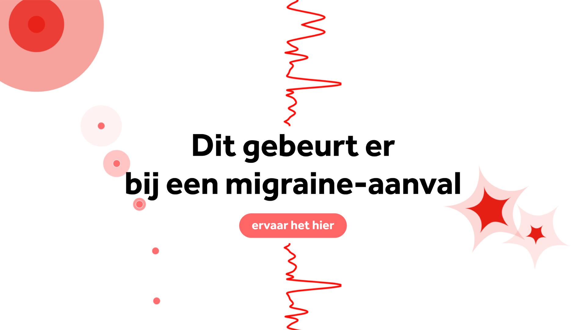 Zo voelt het om een migraine-aanval te krijgen
